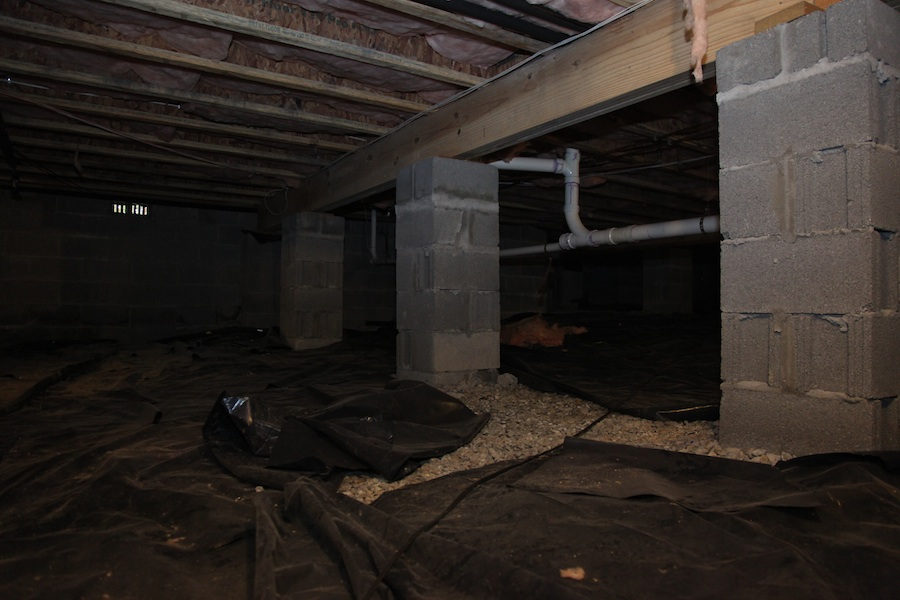 What kind of foundation is your home on for Crawl space slab