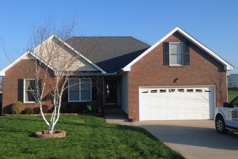 USS installed floor supports in this home in Clarksville, TN.