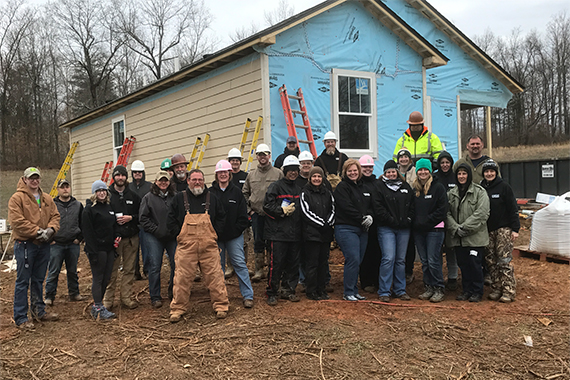 Habitat for Humanity Team