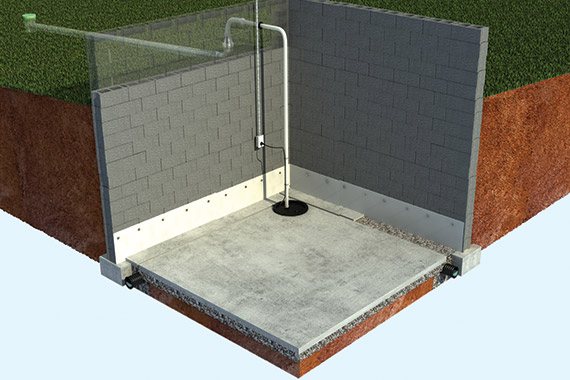 How Basement Waterproofing Is Done photo