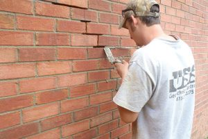 brick repair services from experienced concrete contractors in TN