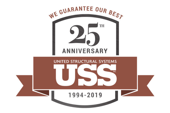 United Structural System 25th Anniversary Logo